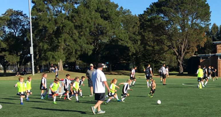 NFC Community Day small sided game