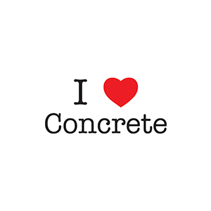 """I love Concrete"""