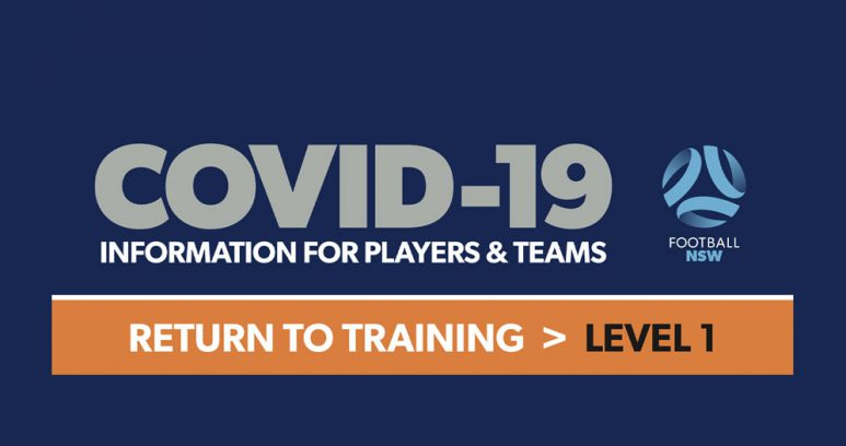Covid-19 return to training level 1